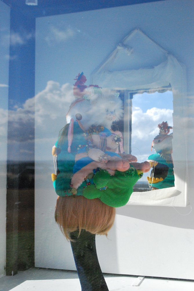 julie bach- totem teddy hat - sondrup kunsthal 2